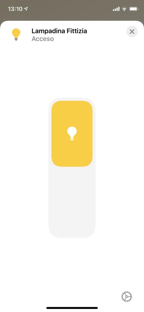 Home Assistant Fondamenta - Assistenti HomeKit Esempio 2